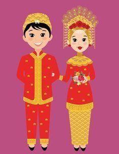 27 Gambar Kartun Pengantin Palembang 86 Best Ebook Anak Images Kids Reading Islam For Kids Download Images Tagge Minangkabau Bride Cartoon Wedding Cartoon