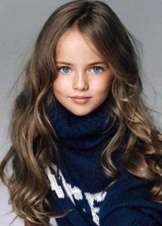 Photo coupe de cheveux petite fille