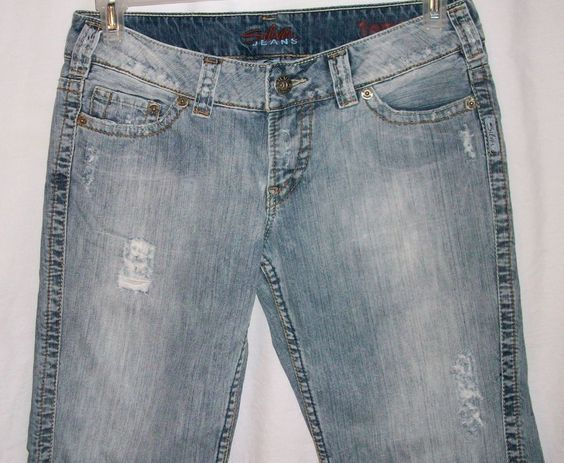 Size 29 Tammi Silver Jeans Distressed Denim Jean Shorts
