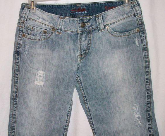 Size 29 Tammi Silver Jeans Distressed Denim Jean Shorts ...