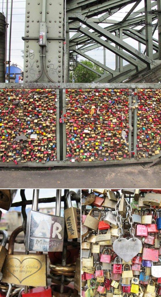 Gastpost von 23qmStil von der Hohenzollernbrücke