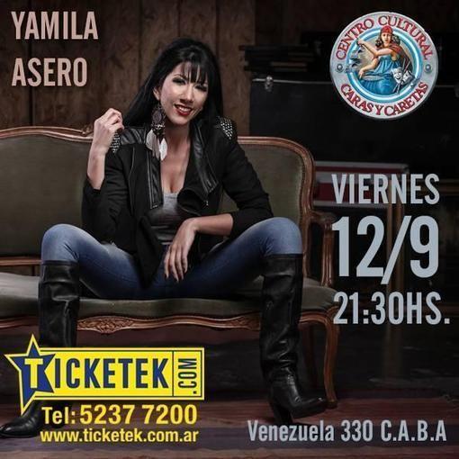"""Yamila Asero: """"Tango sin gomina ni arrabal... Una mirada femenina y actual de nuestra música ciudadana"""""""