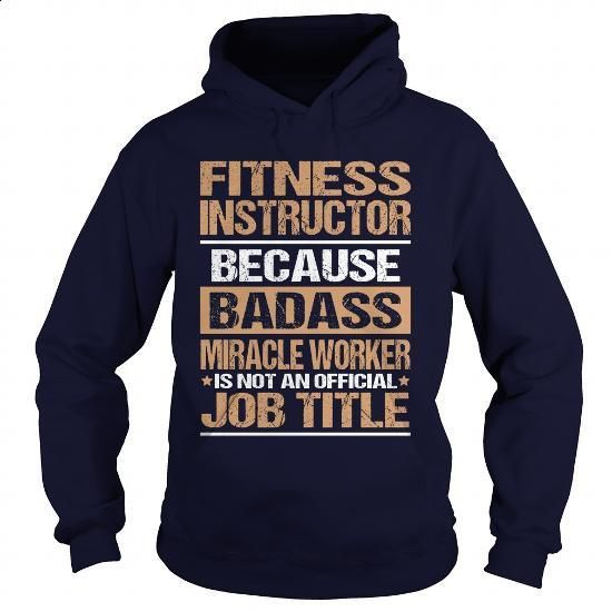FITNESS-INSTRUCTOR - #unique t shirts #black hoodie womens. I WANT THIS => https://www.sunfrog.com/LifeStyle/FITNESS-INSTRUCTOR-97353671-Navy-Blue-Hoodie.html?60505