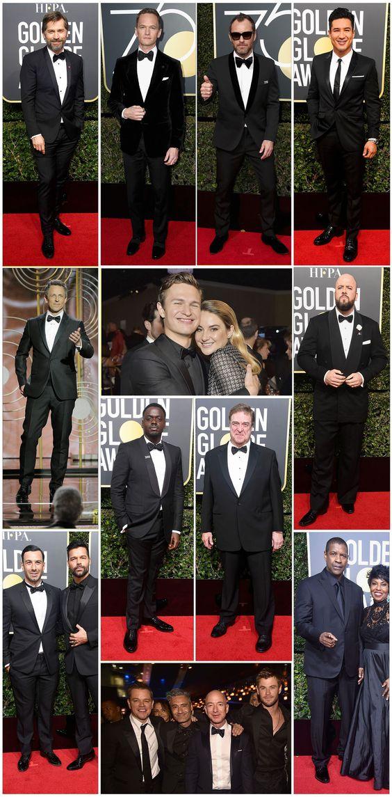 O melhor do Golden Globes 2018: Os  looks, os protestos e as musas da noite .