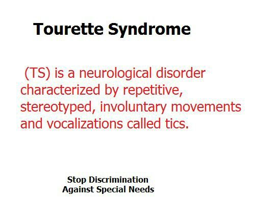 the misunderstood and understated world of tourettes syndrome His first goal was to educate others about tourette syndrome  shadow of  growing up in a world ignorant of his needs still haunts bonifas.