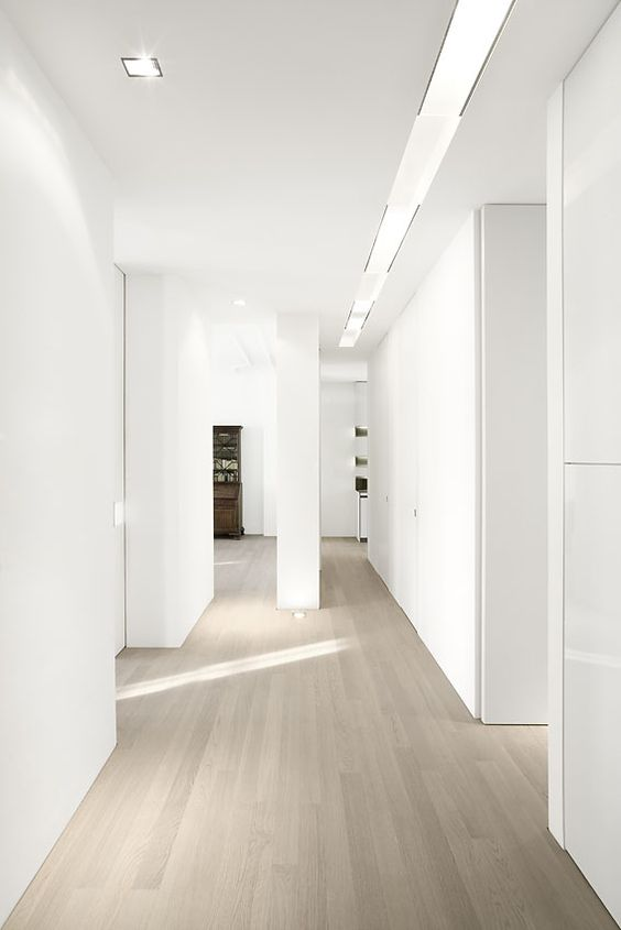 Grey wash wood floors white walls our house living - Grey and white walls ...