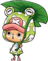 チョッパー × カエルの画像 プリ画像