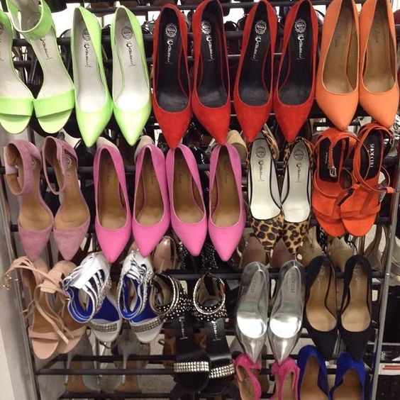In the studio #behindthescenes #OMGShoes