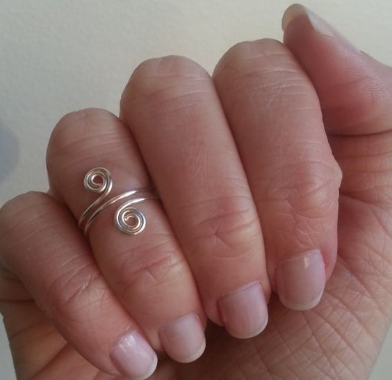 Swirl Midi Knuckle Ring - Only $6.99!