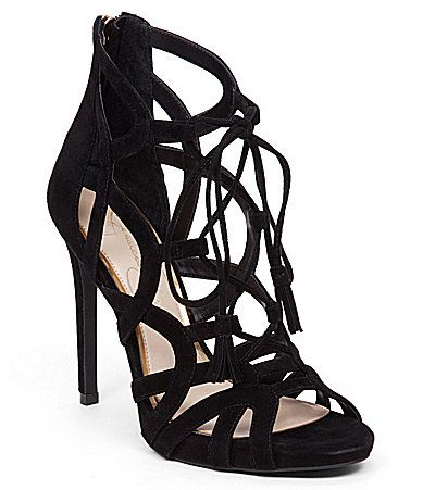 Jessica Simpson Racine Lace Up Ghillie Sandals Dillards | The