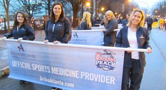 The Chick-fil-A Kickoff Classic and the Chick-fil-A Peach Bowl are two of the biggest college football games to come to Atlanta each year. Get a behind the scene's peek at what it's like for OrthoAtlanta to serve as the official sports medicine provider! Read the new issue of Southern Journal Magazine on our website today! http://southernjournalmagazine.com/behind-scenes-bowl-game/