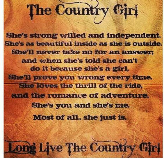 Country gals
