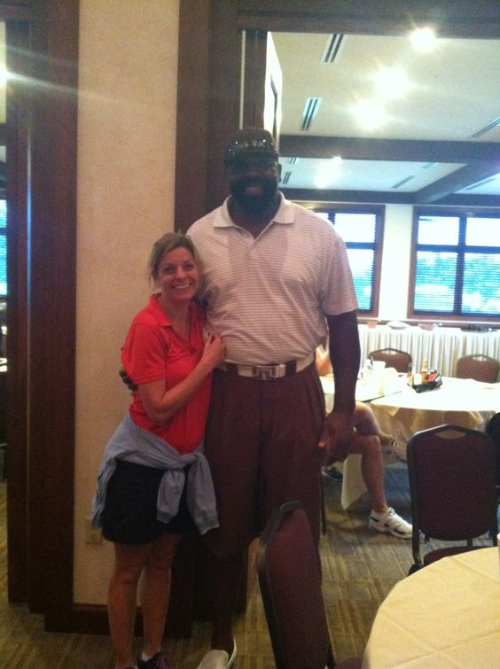 "Ed ""Too Tall"" Jones, Dallas Cowboy Great at the Dallas Cowboy's Golf Course April 11, 2012. Very nice man, and very tall!"