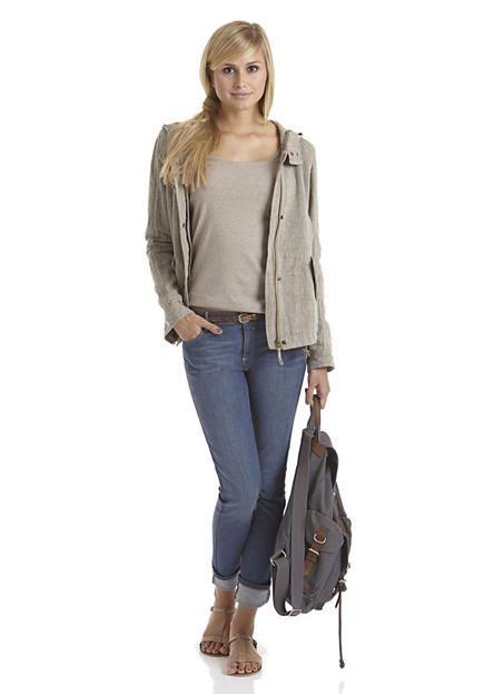 Damen Jeans Slim Fit aus Bio-Denim von #hessnatur - #eco #bio #organic