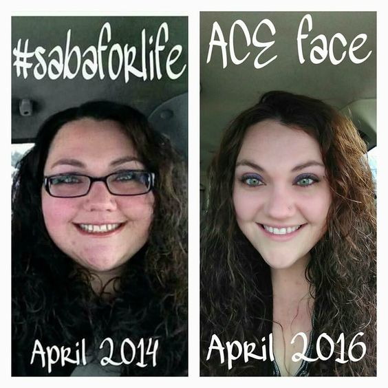 oh Saba....you've done it again!!!! 100 pound loss and maintaining - no problem with ACE and Saba 60!