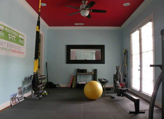 Why 7 Families Ditched The Dining Room Home Gym Design Workout Room Home Workout Room Colors