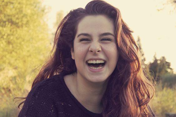 Maria y su preciosa risa   por Magdalena Florit