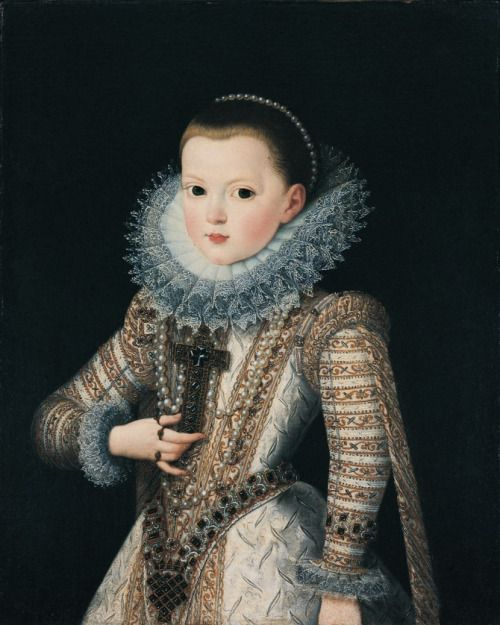 1607 Juan Pantoja de la Cruz - Infanta Ana Mauricia