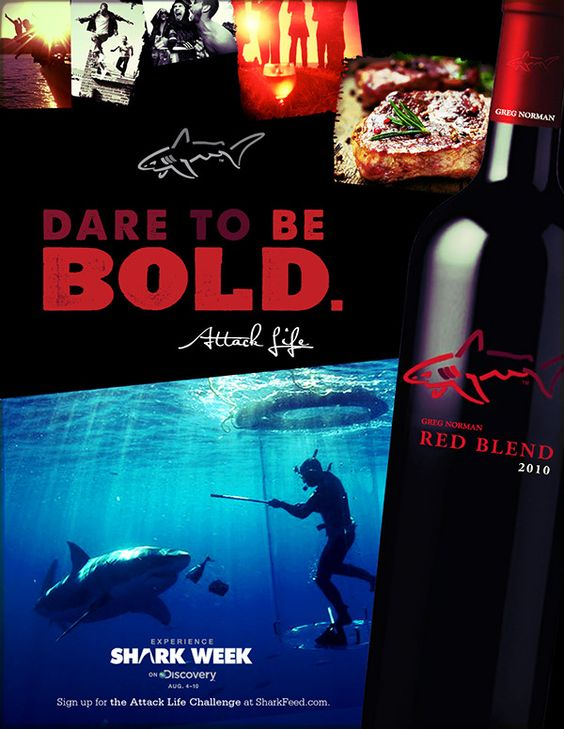 Greg Norman Shark Side on Behance
