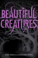 Beautiful Creatures by Kami Garcia and Margaret Stohl. DVD movie to be released in 2013. Read the book while you wait for the movie! YA/Fic/Garcia
