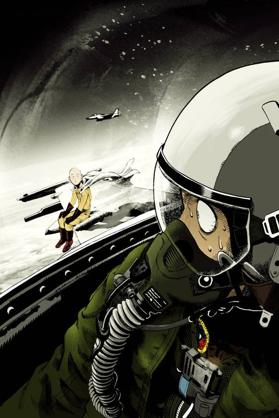 One Punch Man's Fast Travel by JUDASESCARIOTIS