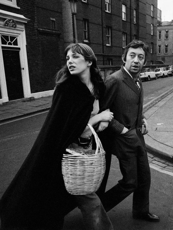 Serge Gainsbourg et Jane Birkin, leurs plus beaux looks