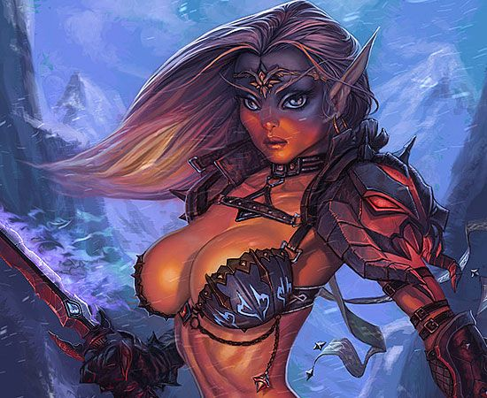 WoW Fan Art: Blood Elf Ranger - World of Warcraft - MMOsite