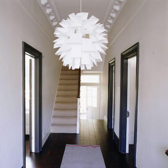 Ideas modern hallways home interior design kitchen and for Hallway bathroom ideas