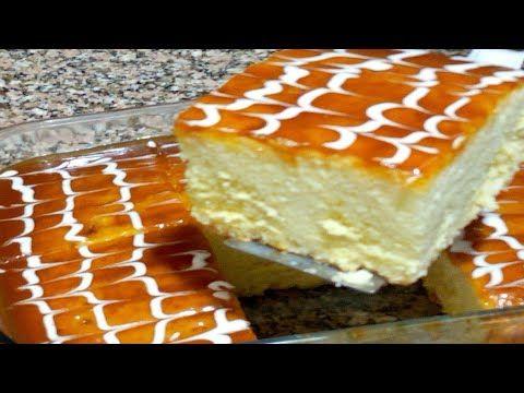 كيكه الحليب والكراميل تووووحفه بجد بتدووب فالبق فعلاااا تستحق التجربه شكراااا700الف مشترك Youtube Cooking Cream Dessert Recipes Sweet Recipes