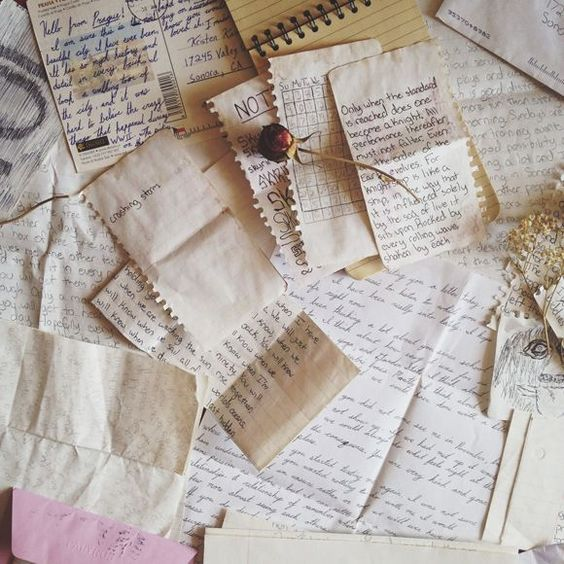 letters upon letters that she had written and had never sent. had never had the courage to send. because how could she, when he was practically wizard royalty, and she was just a poor muggleborn.