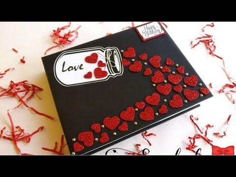 Birthday Anniversary Scrapbook Youtube Anniversary Cards Handmade Birthday Scrapbook Anniversary Scrapbook
