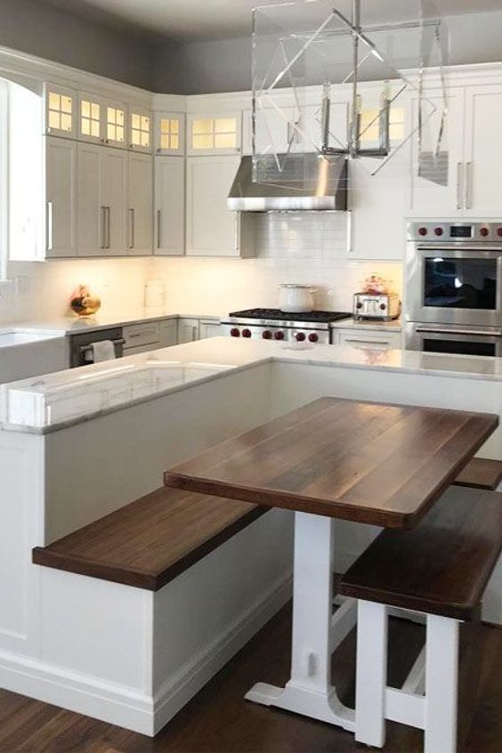 Home Kitchen Bench Table Seat Dining Room Countertop Furniture