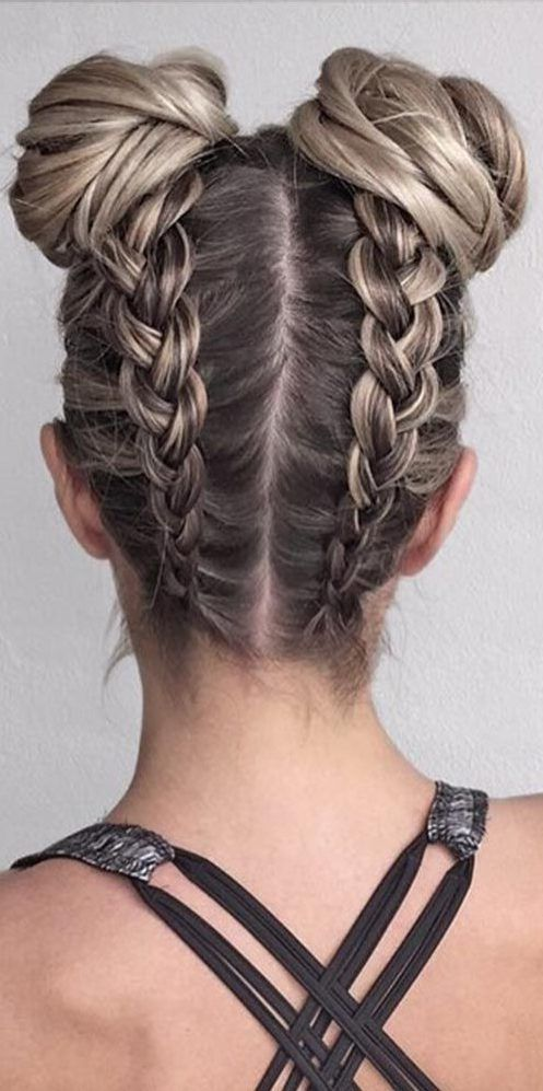 37 Dutch Braid Hairstyles Braided Hairstyles With Tutorials With Hairstyle Hair Styles Pretty Braided Hairstyles Cute Hairstyles For Medium Hair