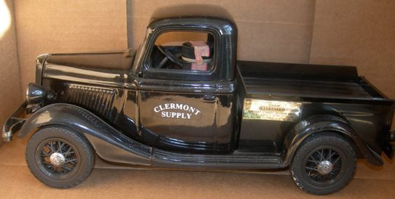 Vintage Jim Beam 1935 Ford Truck Decanter Seal By