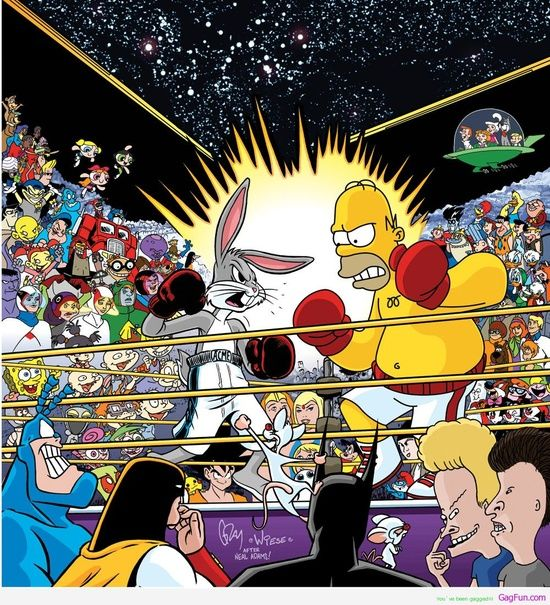 Born in 1984, and yeah, this pretty much sums up a lot of the cartoons I watched on TV growing up. Kids of the 80's & 90's: We fucking | http://your-cartoon-photo-collections.blogspot.com