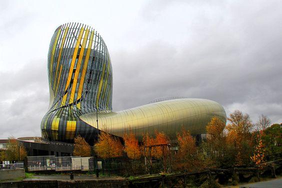 Музей Город Вина, Бордо (La Cité du Vin)
