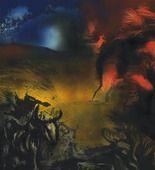 Jackson Pollock. Landscape with Steer. (c. 1936-37)
