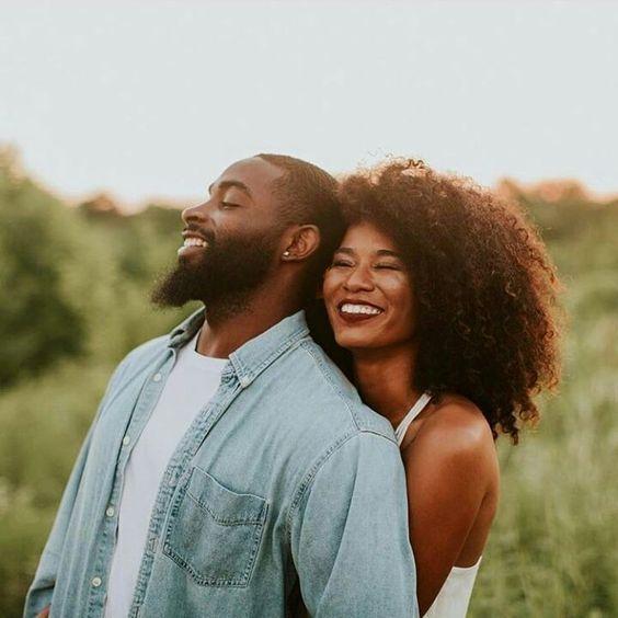 brown couple   Black love couples, Couples photoshoot, Couples engagement  photos