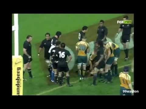▶ ALL BLACKS v AUSTRALIA (BRISBANE) 2008 - YouTube