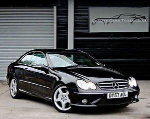 YES PLEASE!!! 2007 '57' Mercedes CLK320 CLK 320 CDI Diesel 7G-Tronic AMG Sport Coupe Black
