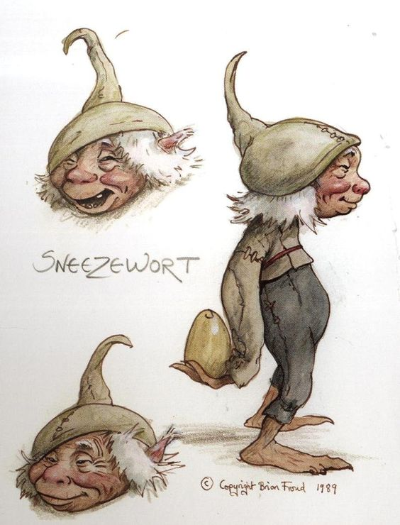 Brian Froud  sneezewort  *   More Froud Family @ http://groups.google.com/group/Froud & http://groups.yahoo.com/group/Froud:
