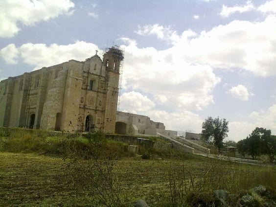 Ex convento de Santo Domingo de Guzmán, Yanhuitlán Oaxaca
