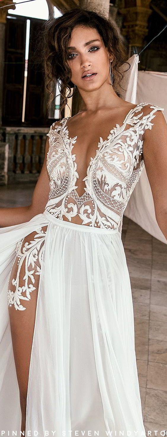 Fall 2018 Wedding Dresses Havana Bridal Collection #fall2018 #fw18 #julievino #weddingdress