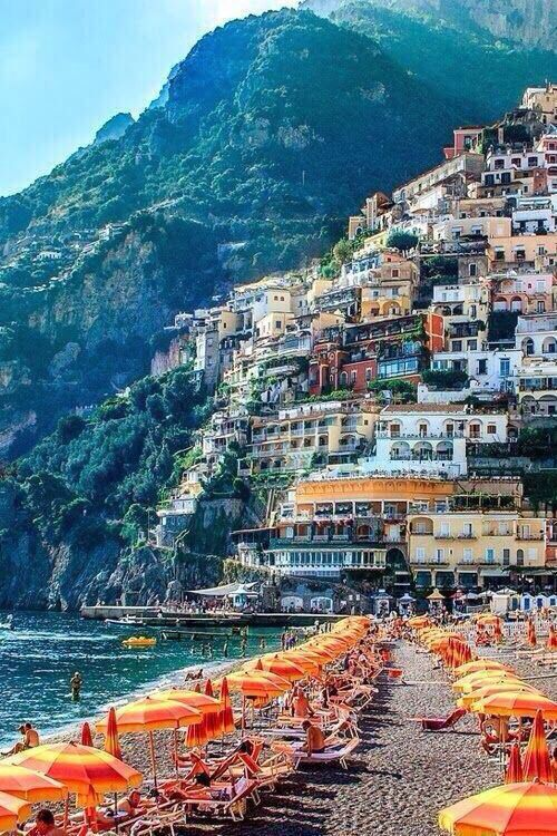 Positano, Italy - Explore the World with Travel Nerd Nici, one Country at a Time. http://TravelNerdNici.com