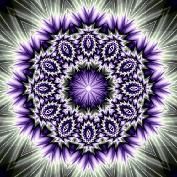 Mandala - kaleidoskop