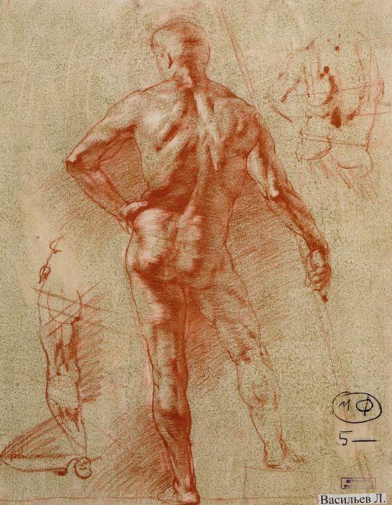 O MUNDO DO ARTISTA: Desenhos da Academia de São Petersburgo