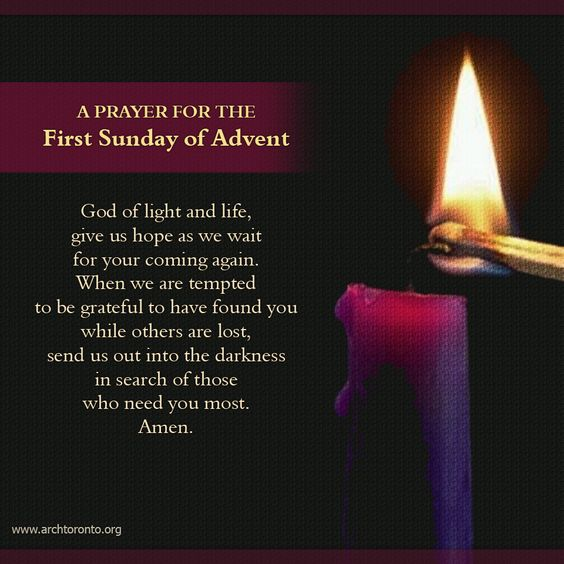 First Sunday Of Advent Prayer For And European Travel On