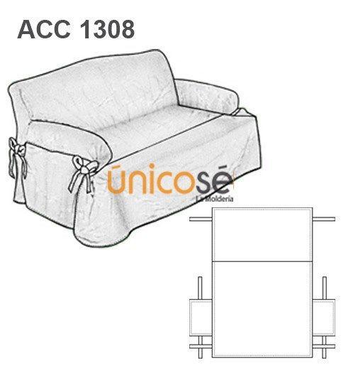 Funda sill n 2 cuerpo costura pinterest diy y - Como hacer una funda para un sofa ...