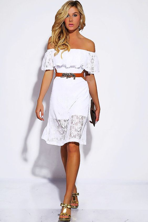 White Lace Summer Dress by KhaleesiDreams on Etsy $29.99 ...