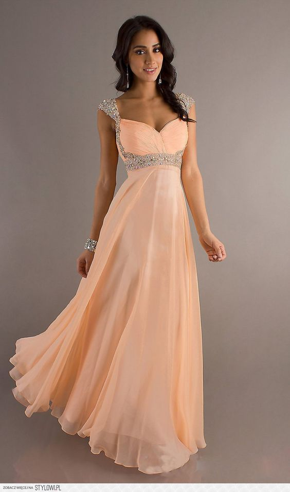 I found this awesome cap sleeve prom dress from http://okbridal ...